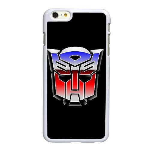 P5V81 Transformateurs U6P4SN coque iPhone 6 4.7 pouces Cas de couverture de téléphone portable coque blanche KN6INW4WI