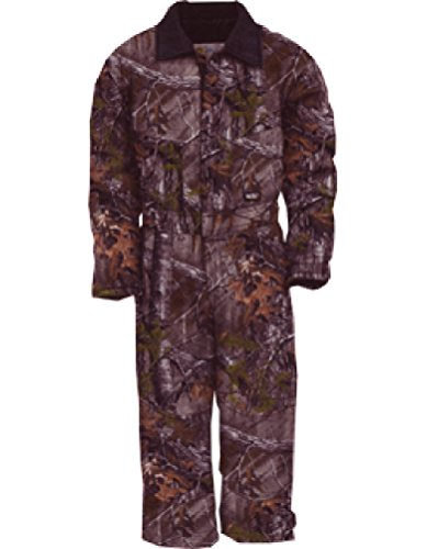(Walls Legend Boys Youth Grow with Me Insulated Coveralls Small Realtree Xtra)