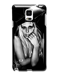 Tomhousomick Custom Design Women's Fashion Cases Sexy Singer Lady Gaga Case for Samsung Galaxy Note 4 IV Back Cover #218