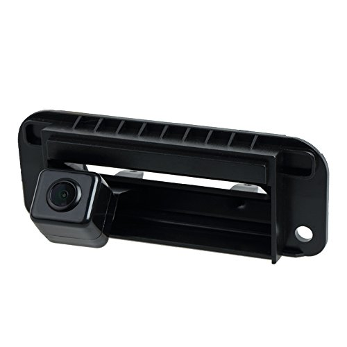 Misayaee Backup Camera with Tailgate Handle for Universal Monitors (RCA)...
