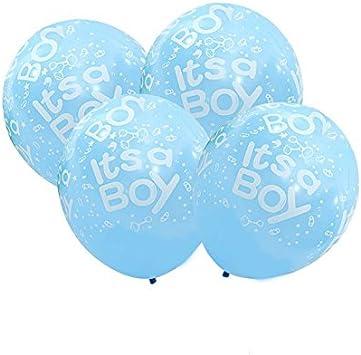 CHIPYHOME 20 Unids Globos Es un niño ¡¡¡ Baby Shower Recien ...