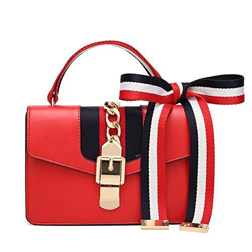 Hongge Messenger Chain B Portable Lady Bag PU Small Side Bag Bag Fashion 77qrfO