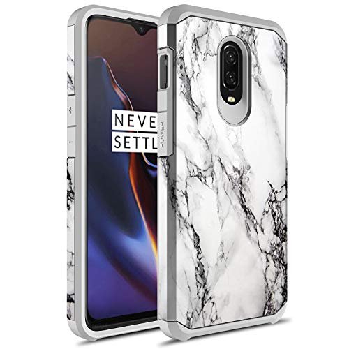 the latest 2dc87 eec3d OnePlus 6T Case, Rosebono Slim Hybrid Dual Layer Shockproof Hard Cover  Graphic Fashion Cute Colorful Silicone Skin Cover Armor Case for OnePlus 6T  ...