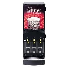 Wilbur Curtis Café Primo Cappuccino System 3 Station Cappuccino (4 Lb Hoppers) – Commercial Cappuccino Machine – CAFEPC3CS10000 (Each)