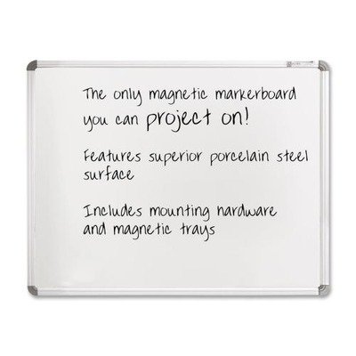 Balt Projection Plus Markerboard - 6' x 4' - -