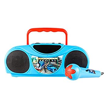 Thomas and Friends Radio Karaoke Kits, 16385 Little Star Music Player,  Portable radio FM/AM radio, Includes a corded microphone and Adds a retro  feel,
