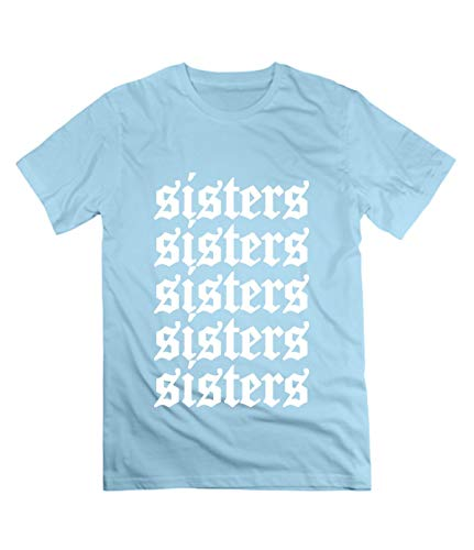DDDXXX Sisters James Cool Charles T Shirts for Men L SkyBlue -