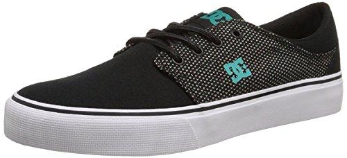 DC Mens Trase TX Se Skate Shoe, Schwarz, 38 D(M) EU/5 D(M) UK