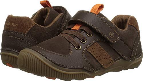 Footwear Toddler Brown (Stride Rite Boys' SRT Wes Casual Sneaker, Brown, 6.5 M US Toddler)