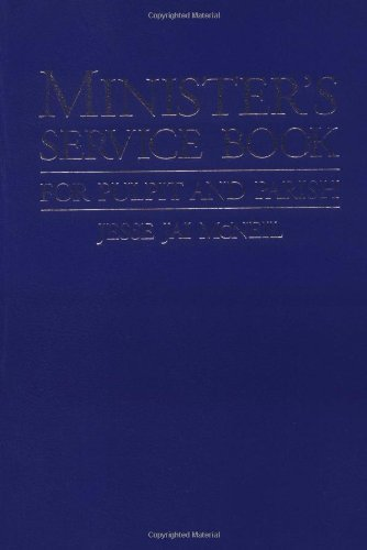 Minister's Service Book: For Pulpit and - Eerdmans Handbook