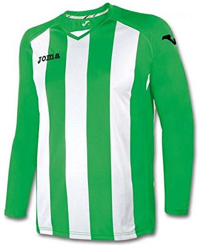 (JOMA PISA 12 GREEN-WHITE STRIPED SHIRT 6-8)