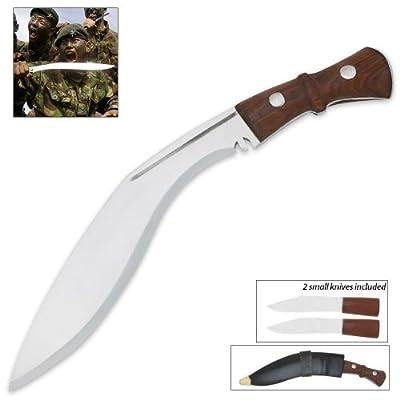 Genuine Gurkha Kukri Knife by Bud K