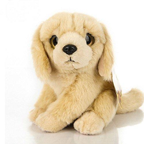 Honey Candy 7-Inch Simulation Golden Retriever Dog Plush Toy Plush Stuffed Toys