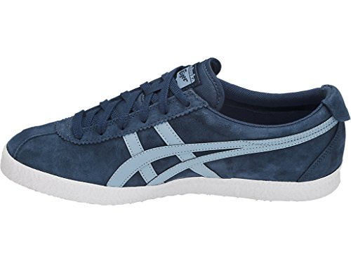 Onitsuka Tiger Mens Mexico Delegation Fashion Sneaker Blu Scuro / Fumo Azzurro