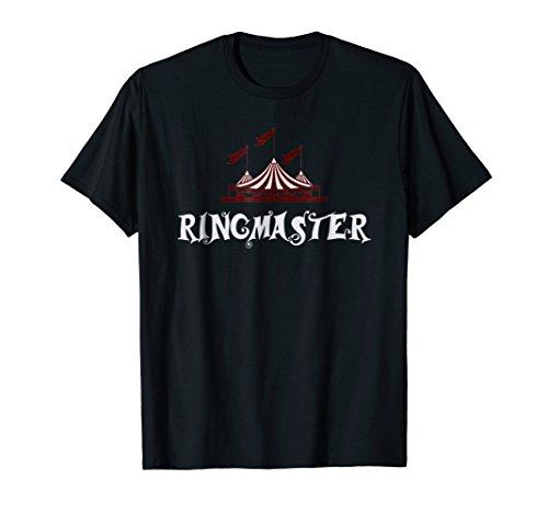 Ringmaster Shirt Circus Showman Costume Kids Men Women Gift]()