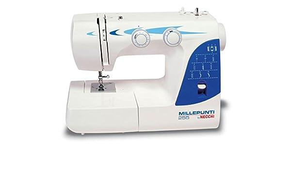 Necchi 255M - Máquina de coser (Máquina de coser automática, Azul ...