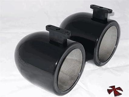 Amazon.com: 6.5 inch Negro latas de wakeboard altavoz de ...