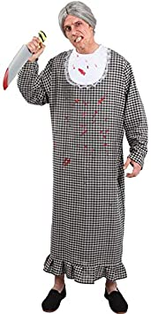 DISBACANAL Disfraz de Abuela asesina - -, XL: Amazon.es ...