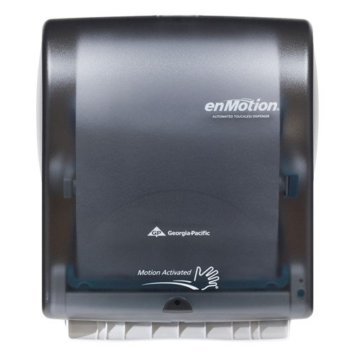 Georgia Pacific Enmotion 59462 Classic Automated Touchless Paper Towel Dispenser Translucent Smoke Amazon Com Industrial Scientific