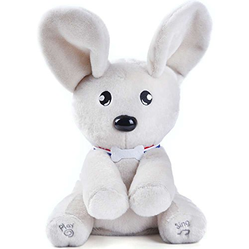Dog Soft Plush Toy - FOTD Peek-a-Boo Dog Stuffed Animals, Soft Cute with Singing Flappy, Plush Toys for Baby Kids Toddlers