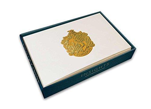 Harry Potter: Hufflepuff Crest Foil Gift Enclosure Cards (Set of 10) Crest Stationery