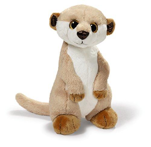 NICI 30 cm Meerkat Standing Plush Toy (Gold)
