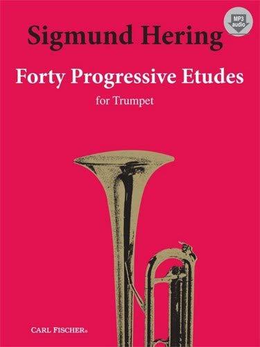 - Carl Fischer 40 Progressive Etudes For Trumpet - Bk+MP3