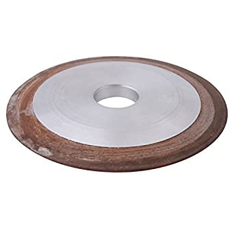 180 Grit 100mm Diamond Grinding Wheel Carbide Steel Resin Cutter