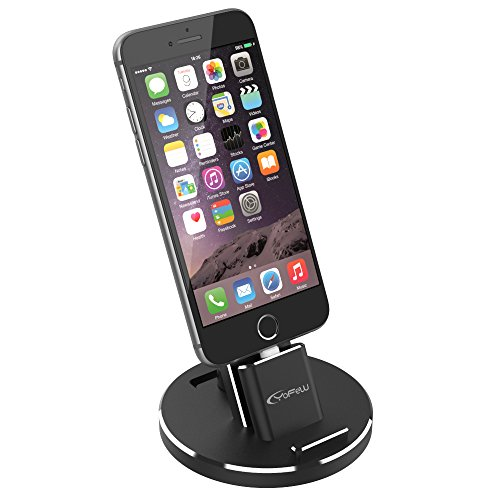 YoFeW Cell Phone Stand Phone Holder for Desk, Compatible with iPhone X/XS/XS Ma /8 / 8Plus / 7/7 Plus /6S /6S Plus 5s 5, Desk Accessories