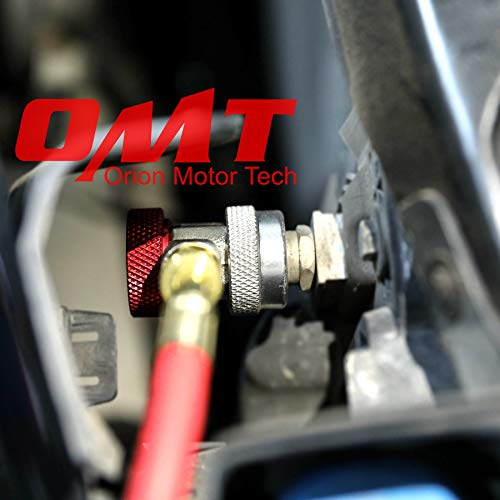 OrionMotorTech Adjustable R134A Adapter Fittings Quick