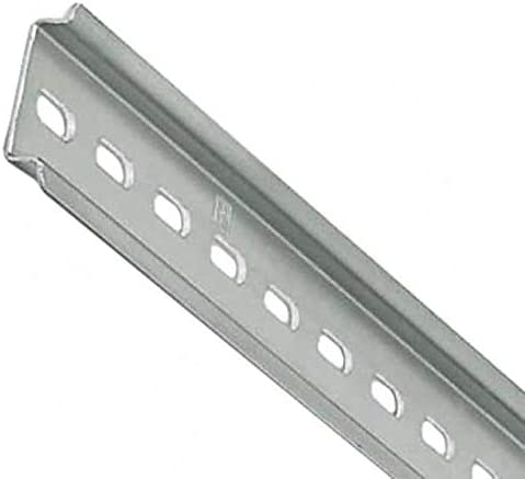 Pack of 1 DIN RAIL 35MMX7.5MM SLOTTED 2M