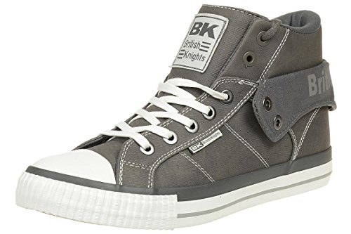 British Knights ROCO BK men trainer Sneaker B37-3705-05 grey, shoe size:EUR 42