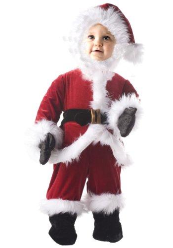 Under (Santa Costume Child)