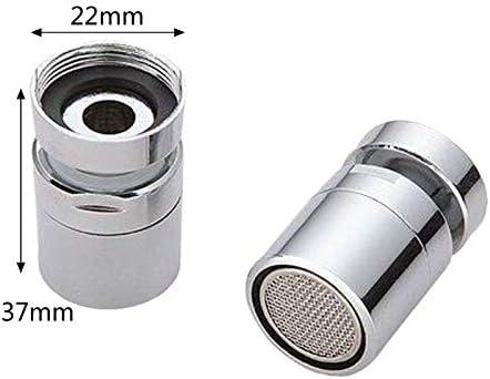 360度のスイベルと真鍮節水タップ蛇口エアレータースプレーアタッチメント (Color : 1)
