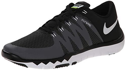 Nike Men's Free Trainer 5.0 V6 Training Shoe Black/Dark Grey/Volt/White Size 11 M US (Free Trainer)