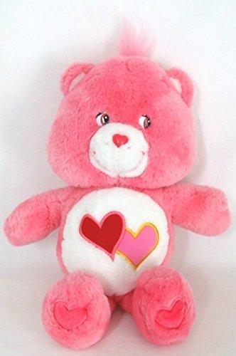 "2002 Care Bears Love-a-Lot Bear 13"" Plush"