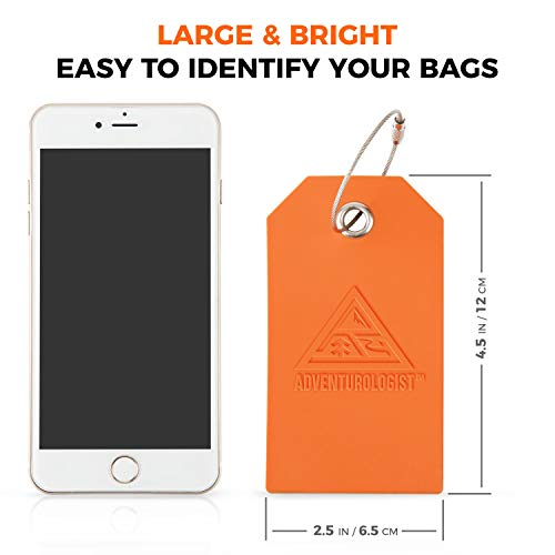 TRAVEL LUGGAGE TAGS - Best Bag Tag For Men and Women to Stop Loss of Suitcases