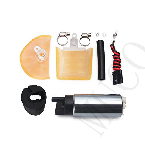 MUCO New 255LPH High Flow High Performance Electric Intank Fuel Pump & Install Kit For Multiple Models 50-1000