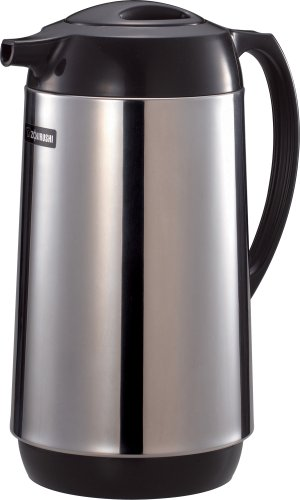 Zojirushi Polished Stainless Steel Vacuum Insulated Thermal Carafe w/ Glass Lining