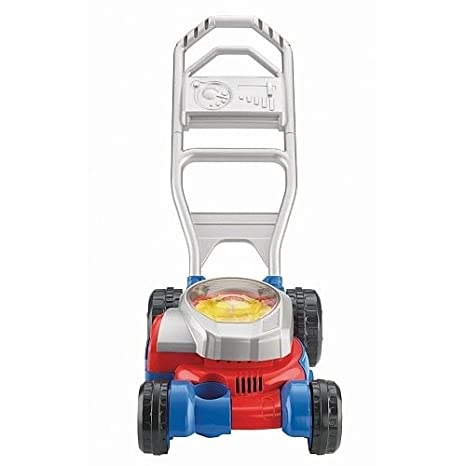 Amazon Fisher Price Bubble Mower Red And Blue Toys Games