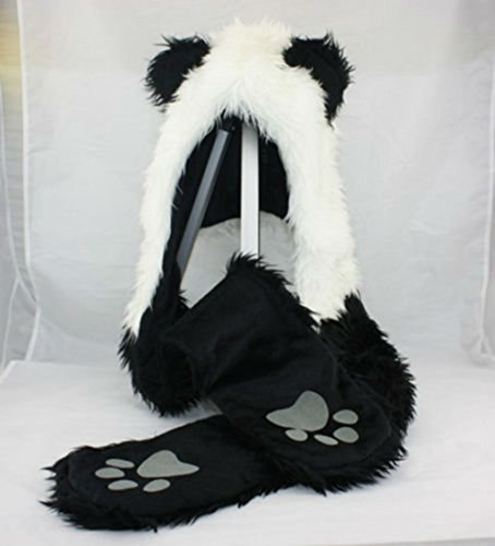 Panda Full Animal Hoodie Function product image