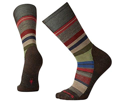 Smartwool Men's Saturnsphere Socks (Chestnut/Fossil) Large