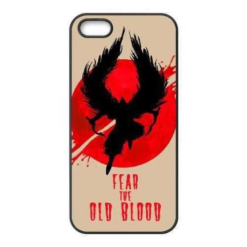 Bloodborne YF24LV8 coque iPhone 4 4s téléphone cellulaire cas coque K9QL7J3QM