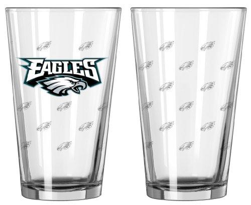 Philadlephia Eagles Satin Etch Glass product image