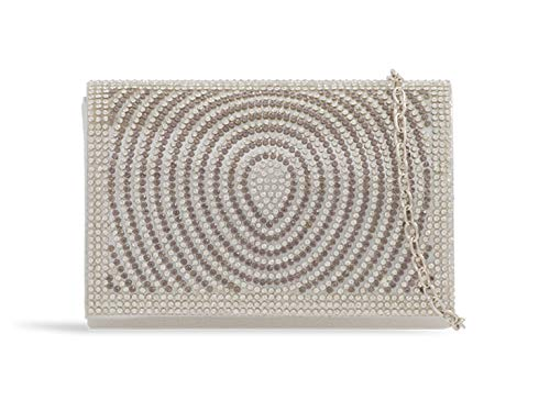 387 Wedding Women's Evening Clutch Diamante Silver Leahward Bag Handbags A0nqUnTp