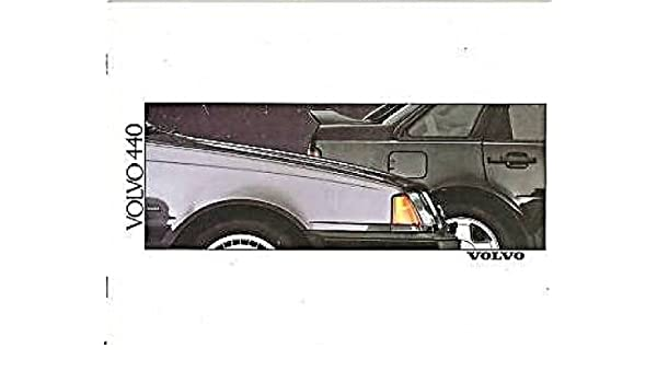 Amazon.com : 1989 VOLVO 440 GLE, GLE & TURBO PRESTIGE COLOR SALES BROCHURE - FRENCH!! EXCELLENT!! : Other Products : Everything Else