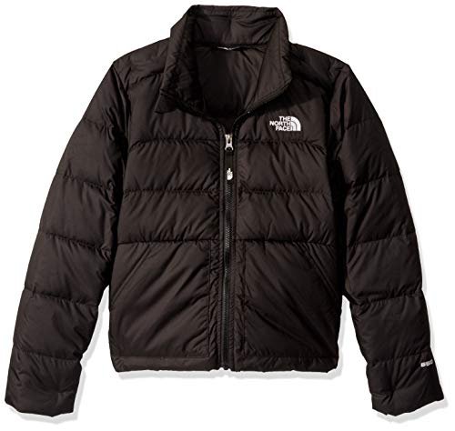 The North Face Girls' Andes Down Jacket, TNF Black, L