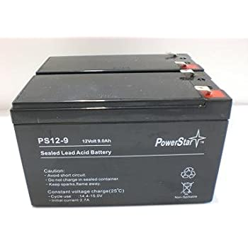 This is an AJC Brand Replacement APC BN700MC 12V 9Ah UPS Battery