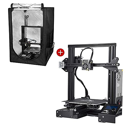 Creality Ender 3 3D Printer and Creality 3D Printer Constant Temperature Protective Cover Room