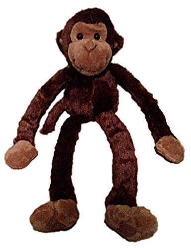Large Hanging Hook and Loop Hand Stuffed Animal Plush Monkey by Adventure Planet